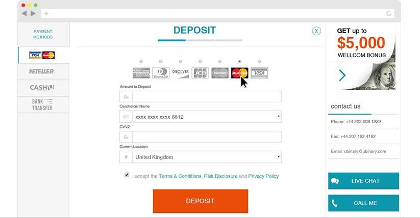 deposit withdrawal ubinary review