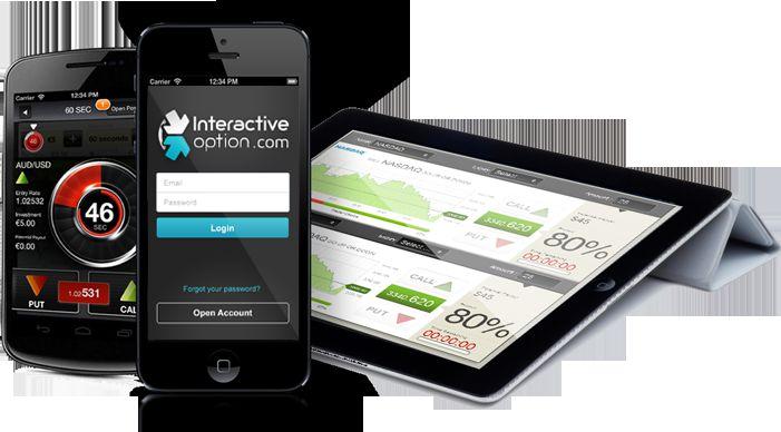 Мобильная версия Interactive option