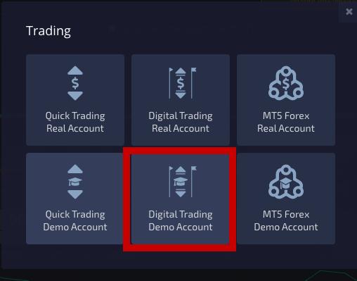 Pocket Option trading account